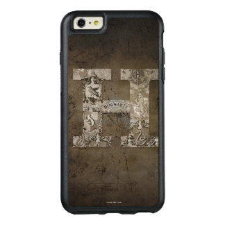 Monogramm Harry Potters   Hogwarts OtterBox iPhone 6/6s Plus Hülle