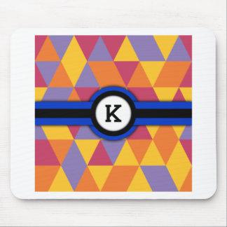 Monogramm K Mousepad