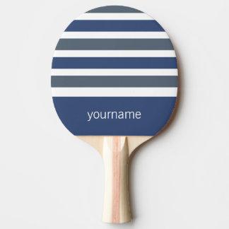 Monogramm-Klingeln pong Paddel des Tischtennis Schläger