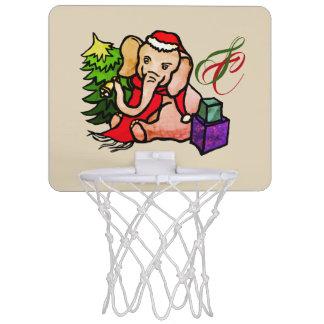 Monogramm-niedlicher Mini Basketball Netz