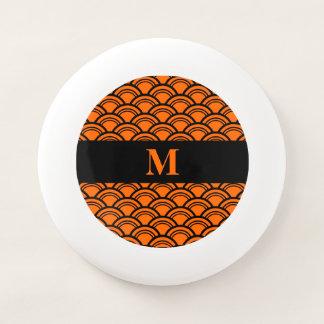 Monogramm-orange Wham-O Frisbee