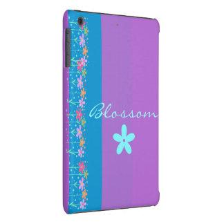 Monogramm Pastell Stripes w Floral iPad iPad Mini Cover