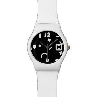 Monogramm-Reihe: Memphis fest in den Achtziger Armbanduhr