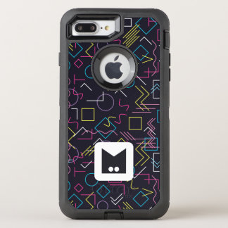 Monogramm-Reihe: Memphis fest in den Achtziger OtterBox Defender iPhone 8 Plus/7 Plus Hülle