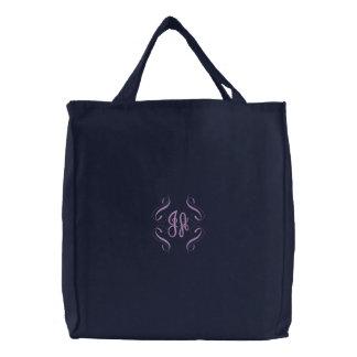 Monogramm-Schreibens-Tasche Janes Austen Bestickte Taschen