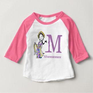 Monogramm-Tibet-Tibetaner Baby T-shirt