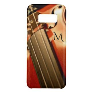 Monogramm-Violinen-Musik Case-Mate Samsung Galaxy S8 Hülle