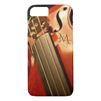 Monogramm-Violinen-Musik iPhone 7 Fall iPhone 8/7 Hülle