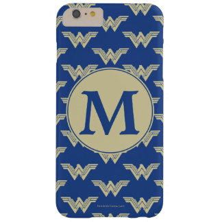 Monogramm-Wunder-Frauen-Logo-Muster Barely There iPhone 6 Plus Hülle
