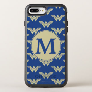 Monogramm-Wunder-Frauen-Logo-Muster OtterBox Symmetry iPhone 8 Plus/7 Plus Hülle