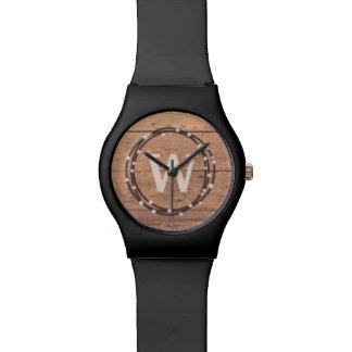 Monogrammentwurf Armbanduhr