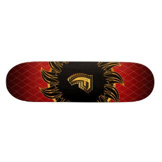 Monogrammentwurf F 19,1 Cm Old School Skateboard Deck