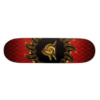 Monogrammentwurf G 20,6 Cm Skateboard Deck