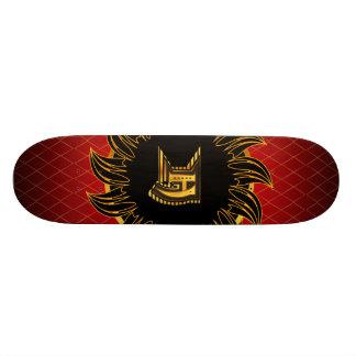 Monogrammentwurf H Skateboard Bretter