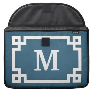 Monogrammentwurf Sleeve Für MacBook Pro
