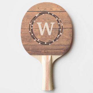Monogrammentwurf Tischtennis Schläger