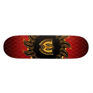 Monogrammentwurf W 20,6 Cm Skateboard Deck