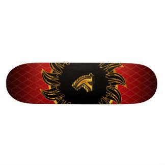 Monogrammentwurf Y Skateboarddecks