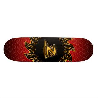 Monogrammentwurf Z Personalisierte Skateboarddecks