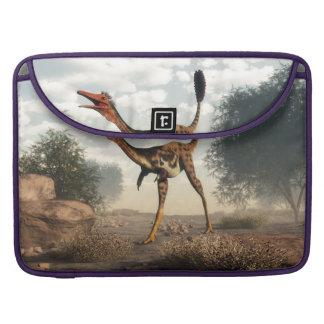 Mononykus Dinosaurier in der Wüste - 3D übertragen Sleeve Für MacBook Pro
