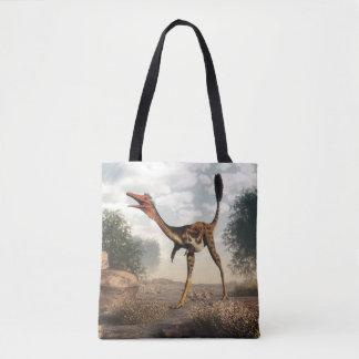 Mononykus Dinosaurier in der Wüste Tasche