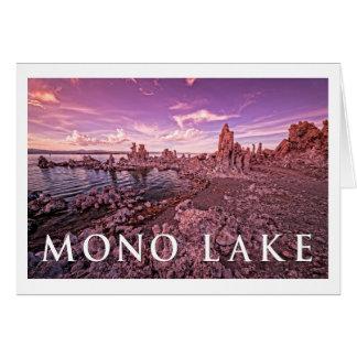 Monosee, Kalifornien Karte