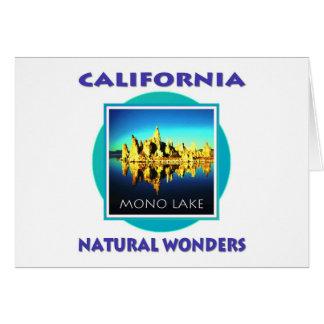 Monosee Kalifornien Karte