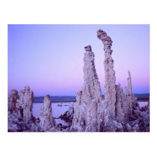Monosee-Reserve. Kalifornien. USA. Tuff Postkarte