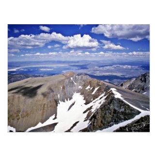 Monosee, schauend vom Gipfel von Mt. Dana Ost Postkarte