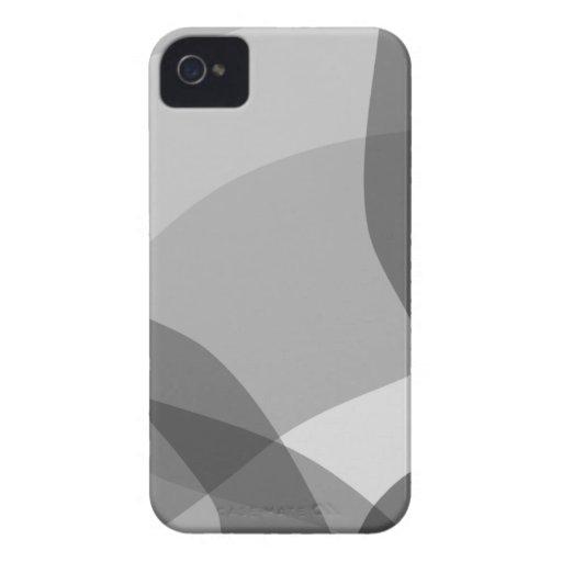 Monotones Weiche iPhone 4 Case-Mate Hüllen