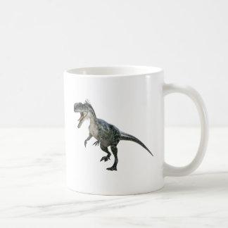 Monotophosaurus Betrieb und Brüllen Kaffeetasse