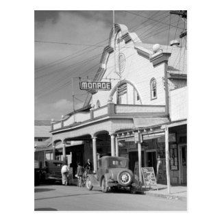 Monroe-Café, Key West, Dreißigerjahre Postkarte