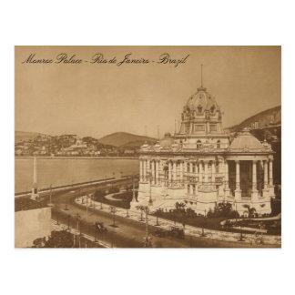 Monroe Palace Vintage Postcard Postkarte