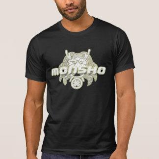 Monsho, das heraus getragen wird, zweigen ab T-Shirt
