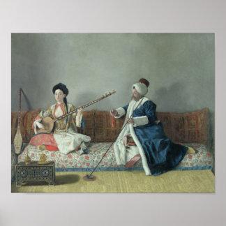 Monsieur Levett und Mademoiselle Helene Plakatdrucke