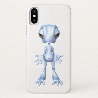 Monster-alien-außerirdische Zahl lustiger Fall iPhone X Hülle