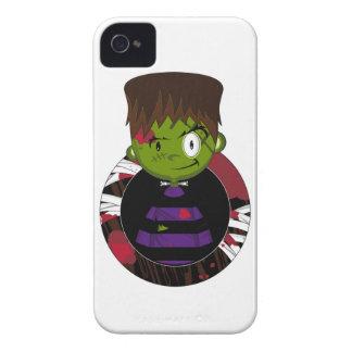 Monster Cartoon-Halloweens Frankensteins Case-Mate iPhone 4 Hüllen