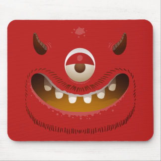 Monster-Gesicht Mousepad