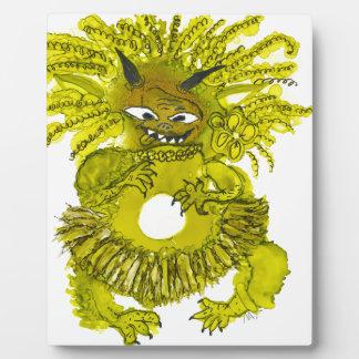 Monster-Lilie Fotoplatte