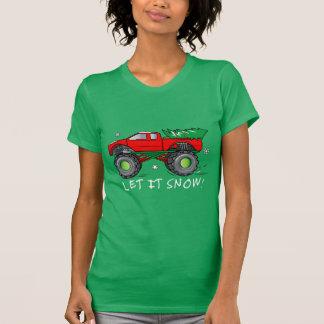 Monster-LKW, der Weihnachtsbaum schleppt: Gelassen T-Shirt