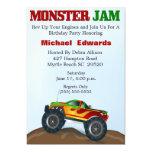Monster-LKW-Geburtstags-Einladungen