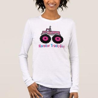 Monster-LKW Langarm T-Shirt