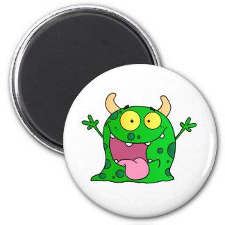 Monster-lustiges Comic, das Cartoon-niedliches glü Kühlschrankmagnet