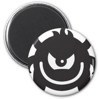 Monster Runder Magnet 5,7 Cm