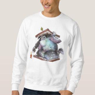 Monster-Sandwich-grundlegendes Sweatshirt