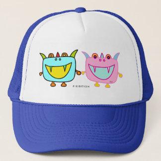 Monster-Tofu-Junge u. Mädchen-Hut Truckerkappe