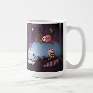 Monster unter dem Bett Kaffeetasse