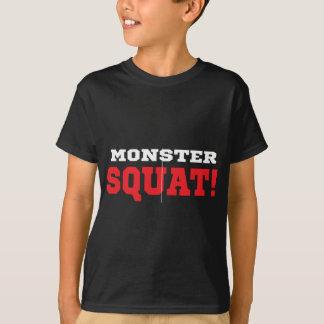 Monster-untersetztes T-Stück T-Shirt
