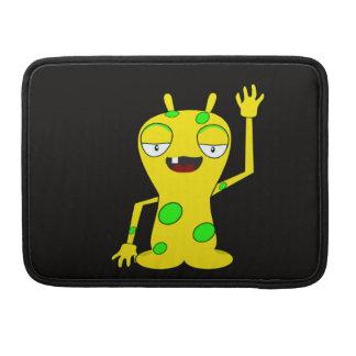 Monster-Wellenartig bewegen MacBook Pro Sleeve