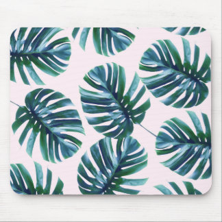 Monstera Muster Mousepad